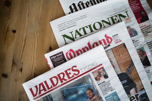 Vekst: Avisa Valdres fekk fleire abonnentar i 2020. Opplaget er det høgaste sidan 2008.