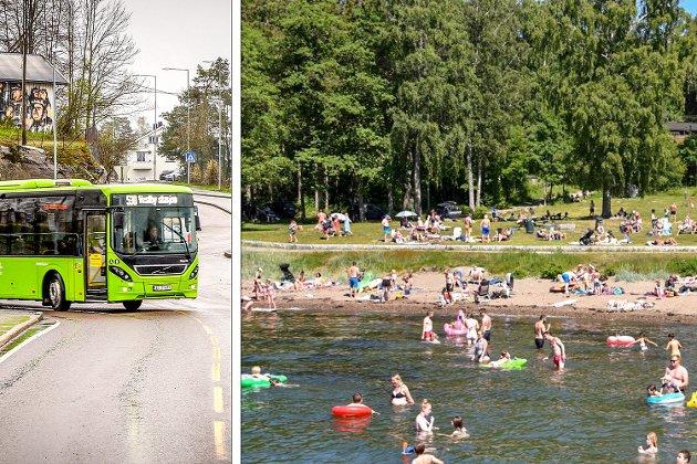 Ronny Kjønsø synes det er en dårlig idé å bruke penger på en gratis sommerbuss. Kommunestyret ville det annerledes.