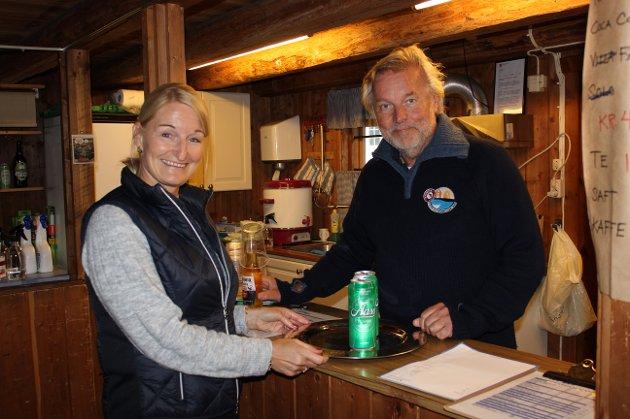 Jani Albrigtsen og Nils Petter Nordskar.