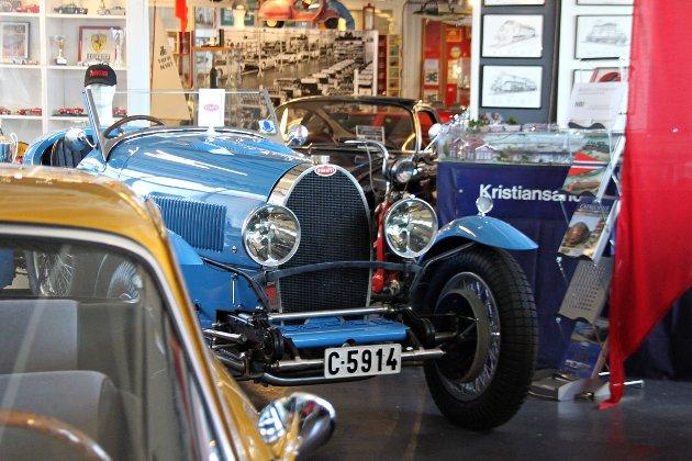 VETERAN: På Fornebu står det en virkelig klassiker, en Bugatti Type 44 fra 1929.  FOTO: Morten Abrahamsen / NTB tema /