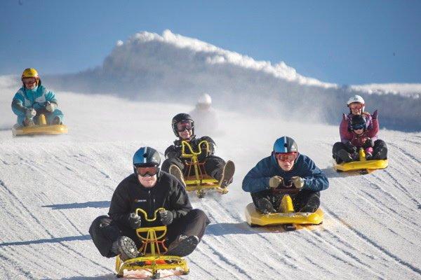 OL: Kjelkebakken i Kanthaugen på Lillehammer har sitt utspring i anlegget til blant annet forsøksgrenen skiballett under OL i 1994. Foto: Øystein Nordås  FOTO:  /   FOTO:  /