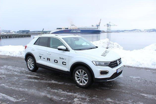 GTI-TAKTER: Nye T-Roc er en ny og velkjørende crossover fra Volkswagen.