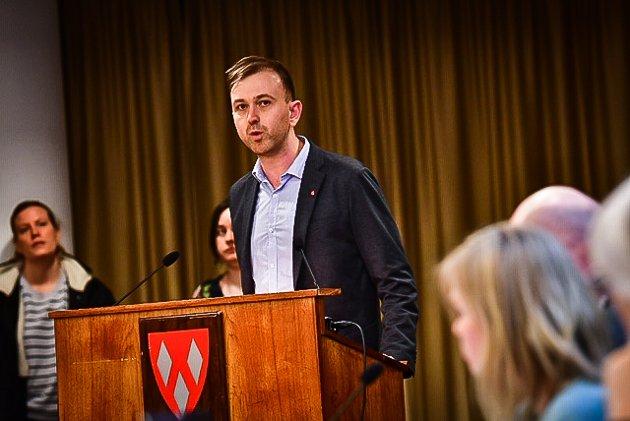SNUR: Arbeiderpartiet stemte i februar for å bygge nye Åsgård ferdig i løpet av 2023. Nå vil partiet utsette skolebyggingen i opp til 12 måneder.