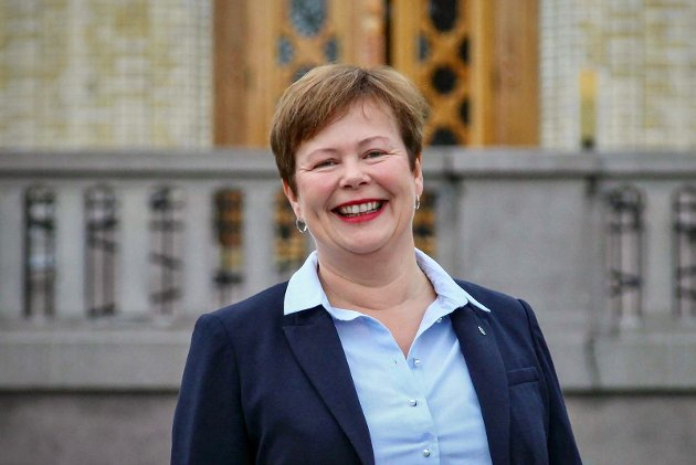 Siv Mossleth (Sp) kjemper mot den store sentraliseringa av Norge