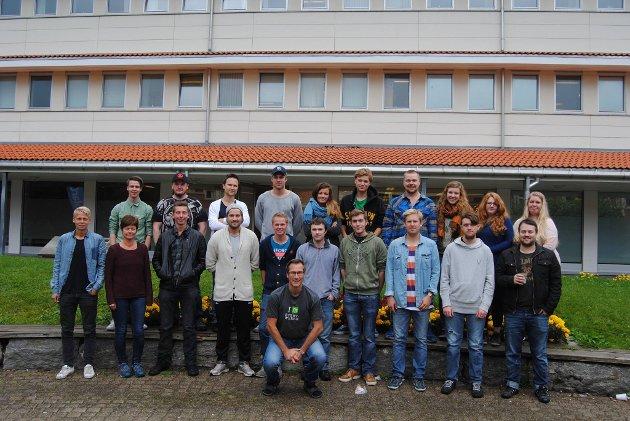 Kullet som startet bachelor i datateknikk via UiT Bodø i 2014. Flere av disse jobber i dag i sentrale posisjoner i privat og offentlig sektor i Bodø.