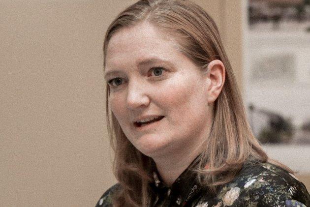 På facebook sender Ida Pinnerød en stor og varm hold-ut-litt-til-klem.