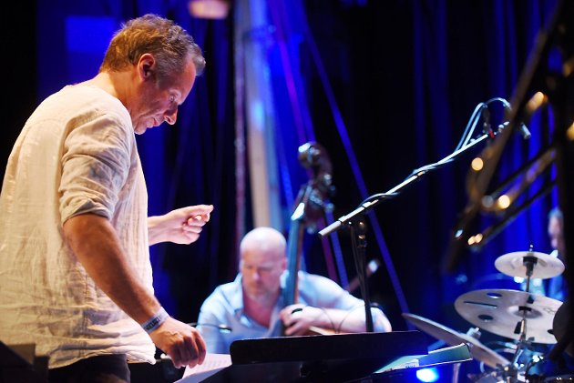 Erlend Skomsvoll og Bergen Big Band fremførte bestillingsverket til Nattjazz 2017.