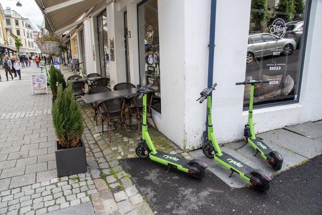 - Ikkje kan folk si oppførsle detaljstyrast og regulerast. Mitt råd til byrådet i Bergen er: Gløym langvarige rettssaker. Kanskje kan kommunen vinna fram, men eg tvilar. Det som ikkje er forbudt, er i Norge tillatt, skriv Jørund Vandvik. ARKIVFOTO: EIRIK HAGESÆTER