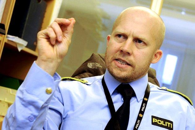 Politiinspektør Kjell Johan Abrahamsen.