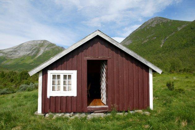 Illustrasjonsbilde av norsk hytte.