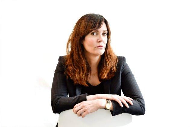 BER GILANI TREKKE SEG: Ansvarlig redaktør i Drammens Tidende, Kristin Monstad.