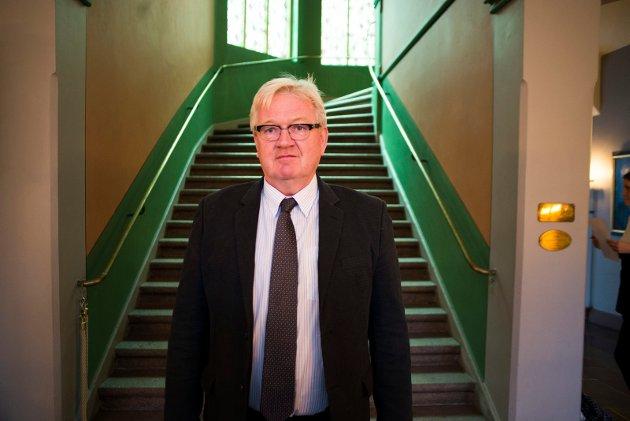 UTFORDRER HØYRES ANDERS B: WERP: Dag Ebbestad i Arbeiderpartiet.