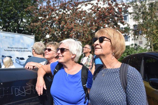 Sonja Jacobsen, Ellen Solberg og Bjørg Andreassen.