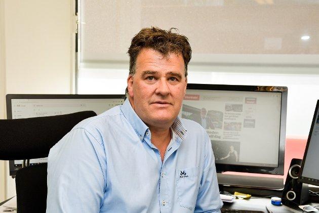 Stig Odenrud er ansvarlig redaktør og daglig leder i Eikerbladet.