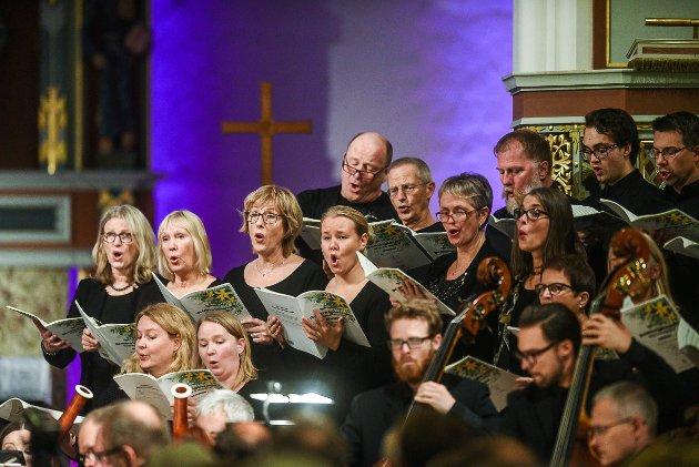 Egil Hovland-Festivalen 2016. Du Fornyer Jordens Ansikt. Oratorium av Harald Gullichsen og Svein Ellingsen.
