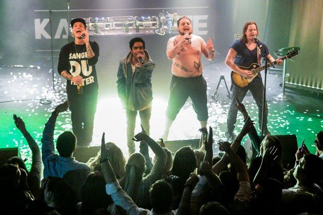 Fredrikstad Studentsamfunn arrangerte konsert med Staysman & Lazz og Katastrofe på City Scene Fredrikstad.