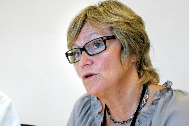 HR-direktør Wenche Lyngholm slår fast at Sykehuset Østfold jobber for å få flere heltidsstillinger for sykepleiere.