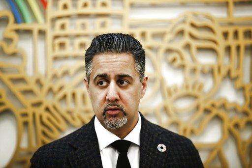 Kulturminister Abid Raja (V) inviterer til pressemøte om bidrag til frivillighet nå i koronavirusets tider. Foto: Terje Pedersen / NTB scanpix