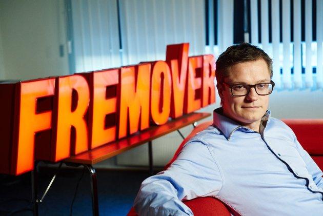Sjefredaktør og administrerende direktør i Fremover, Christian Senning Andersen.