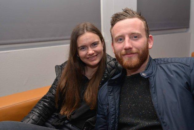 Vigdis Støer og Magnus Johnsen