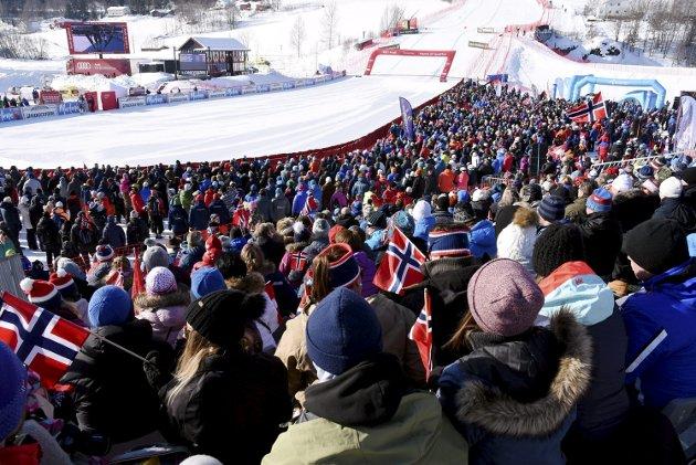 Idrettsfest: Kvitfjell er, sammen med X-games i Hafjell,  først ut i rekken av idrettsfester.ArkivFoto