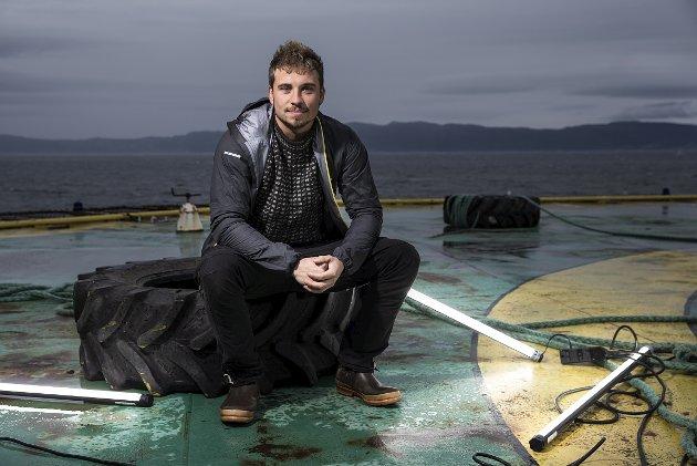 VINNER: Isak Dreyer (26) er «Norges tøffeste». Reality-vinneren  visste hvordan murstein skulle bæres og stables. Det vet folk som henter styrken og motet fra levd liv.