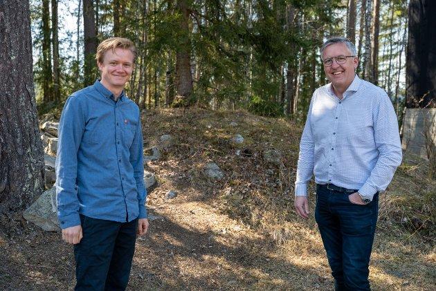 Anders Brabrand og Rune Støstad