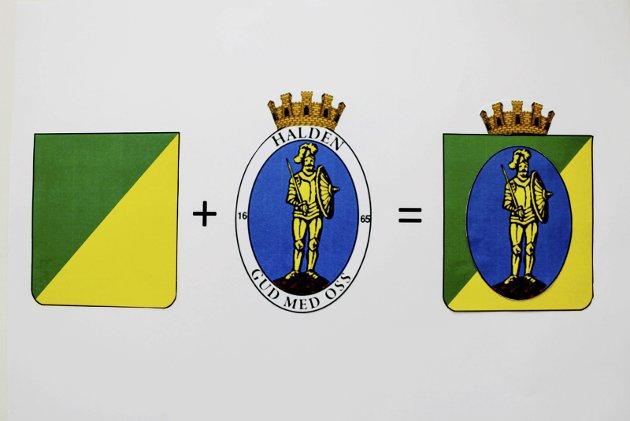 «GODE GRUNNER»: «Den Sorte Skyggen» mener å finne mange gode grunner for at Halden kan slå seg sammen med Rana kommune i Nordland. Illustrasjon: «Den Sorte Skyggen»