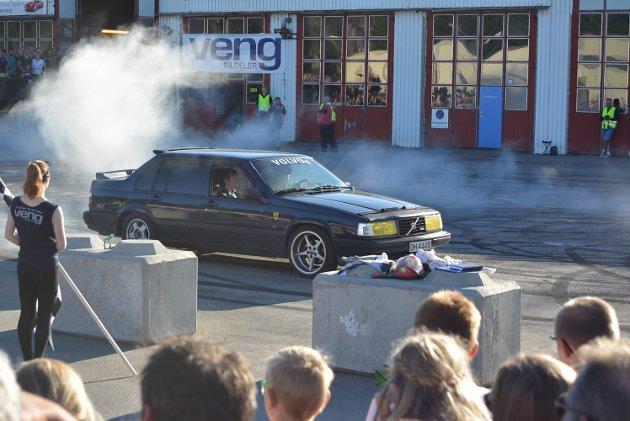 Burnout på Veng under Grensetreffet 2016.