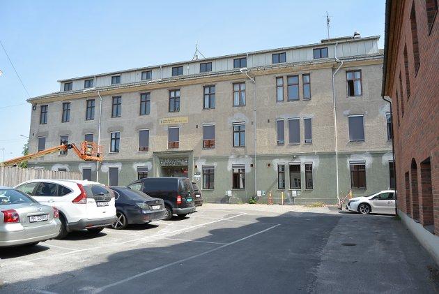 SVØMMEHALL: Det er flere muligheter til å plassere en svømmehall ved St. Josephs Hospital, mener innsenderen.