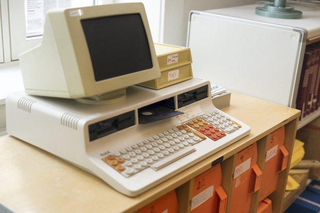 80-tallet: Mange vil nok dra kjensel på Tiki-datamaskinen.