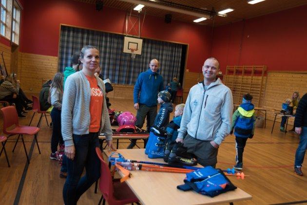 Alpingruppa til Odda idrettslag arrangerte saman med Røldal Skisenter bruktmarknad for vintersportutstyr i grendahuset i Røldal laurdag 20. oktober.