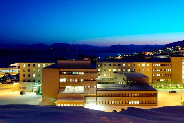 Hammerfest sykehus. Arkivfoto: Allan Klo
