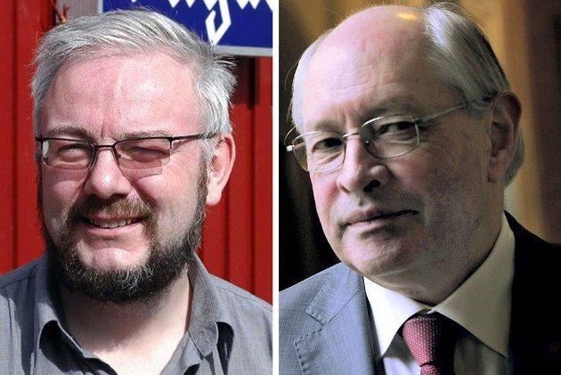 Ansvarlig redaktør i Ságat Geir Wulff og Aps Martin Kolberg.