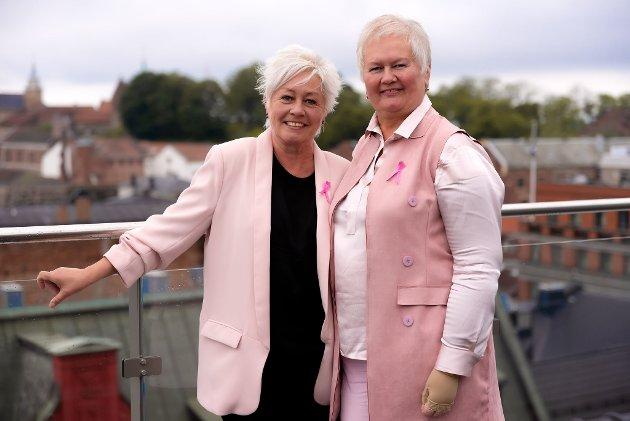 ROSA DAMER: Historiene våre illustrerer godt hvor ulikt kreft rammer, skriver Anne Lise Ryel og Ellen Harris Utne.