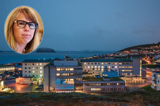 SMITTE: I skrivende stund er det 25 smittetilfeller i Hammerfest, hvorav 15 er ansatte ved sykehuset. Nærkontakter til de 25 smittede er påvist i resten av fylket, deriblant i Tana. Når smitten nå sprer seg, er det viktig å holde hodet kaldt i sosiale medier, mener Anniken Renslo Sandvik.