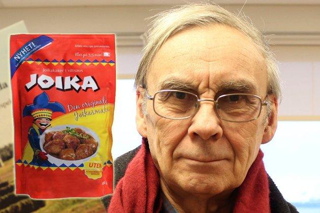 Etiketten Joika er interessant fordi den er ubetydelig, men er blitt en symbolsak, skriver Odd Mathis Hætta.