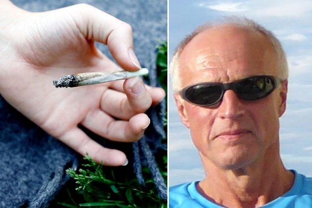 Kurt Rikardsen (innfelt) ved IOGT Nord-Norge frykter en ny rusreform vil kunne føre til at flere ungdom vil prøve narkotika.