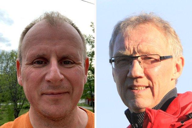 BEHOV: - Vi trenger tiltak og egen krisepakke for næringslivet som hjelper næringen gjennom pandemien, skriver Bjørn Johansen (fraksjonsleder) og Geir Ove Bakken (gruppeleder), i AP næringskomiteen Troms Finnmark. Kollasj.