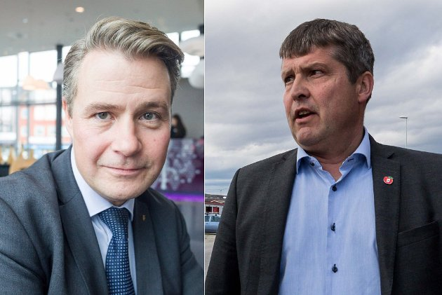 Per Willy Amundsen og Bengt Rune Strifeldt i Frp vil legge ned Sametinget og oppheve Finnmarksloven.
