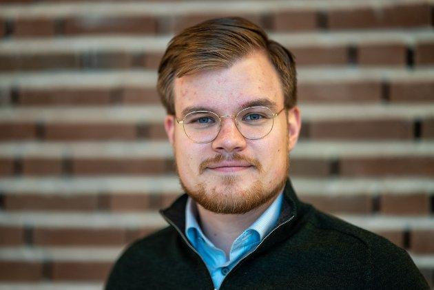Vetle Langedahl, førstekandidat til Stortinget for Høyre i Finnmark