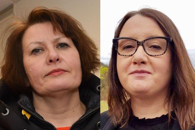 – Nå forventer vi at vårt krav blir lyttet til, skriver Helga Pedersen og Kristin Rajala.