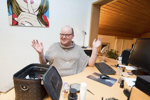 Svarer Indre-journalist: Eirik Elin Stillingen fra Gan. Foto: Vidar Sandnes