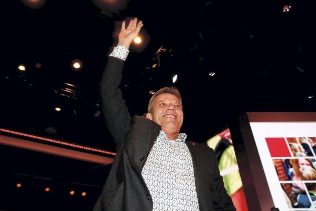 Her er det party: Bjørnar Skjæran en glad, men i dag en angrende gutt i Bodø. Foto: Nettavisen