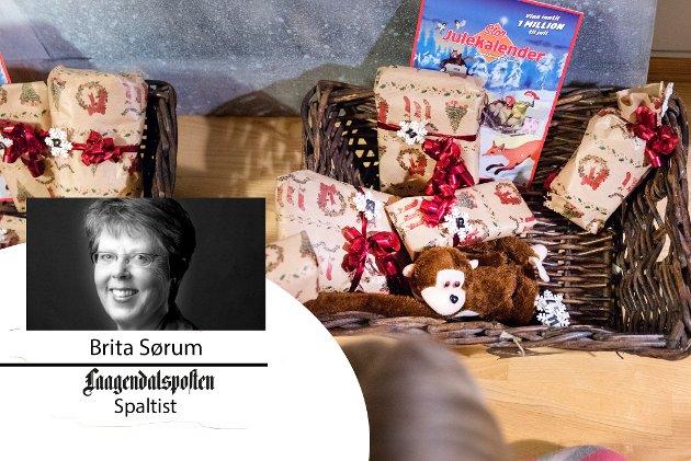 Barn og unge er de som går fremst i klimakampen og mot forbrukersamfunnet, skriver Brita Sørum, som mener de unge kan tenke gjennom om de virkelig trenger kalendere med småting.
