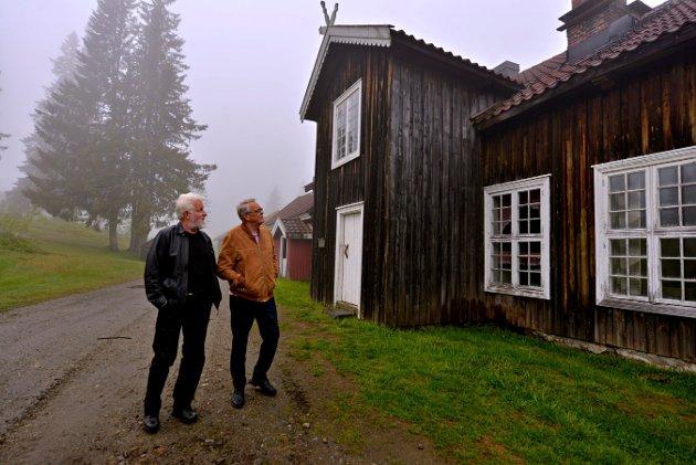 YTRING: Kronikk av Øystein Senum (t.v.) og Kjell Gunnar Hoff.