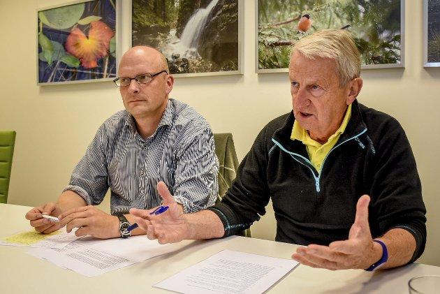 Oppgjør med integreringsjobben: Lars Haugen (t.v.) og Per Vemork ønsker økt fokus på integreting og hva som må gjøres