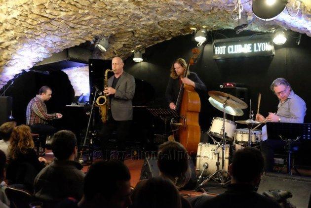 Walt Weiskopf på turné sammen med sin europeiske kvartett mens det ennå gikk an.