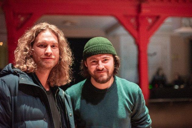 Håvard Brekke Hauglang og Bjørn Ola Oppsal tok turen innom en av de mange konsertene på Trondheim Calling