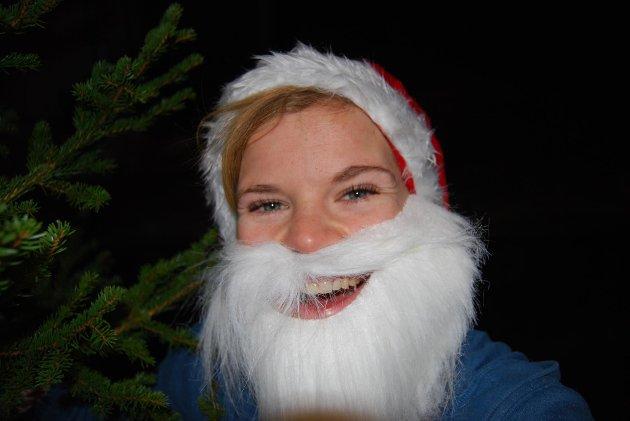 Lisa Eidesen, eller julenissen, om du vil.